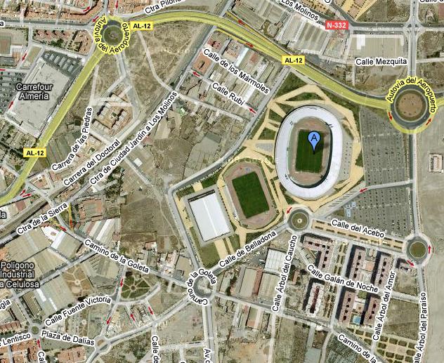 Estadio del Mediterráneo.