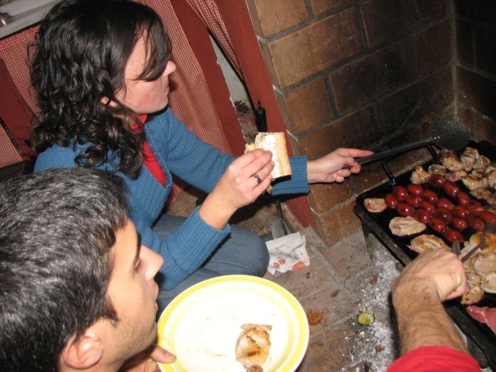 Los cocineros en la lumbre