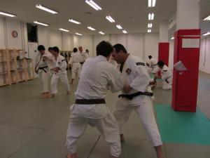 Practicando en el dojo