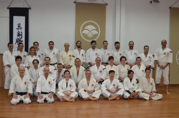 Foto de familia al final del ecuentro
